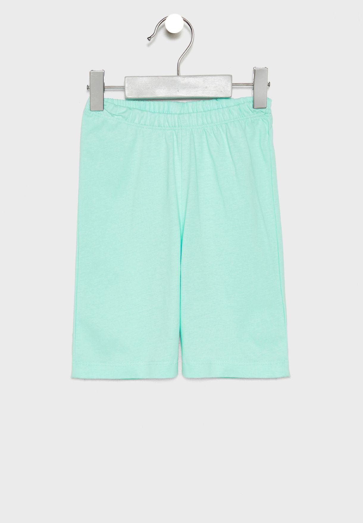 Infant Starfish T-Shirt + Shorts Set