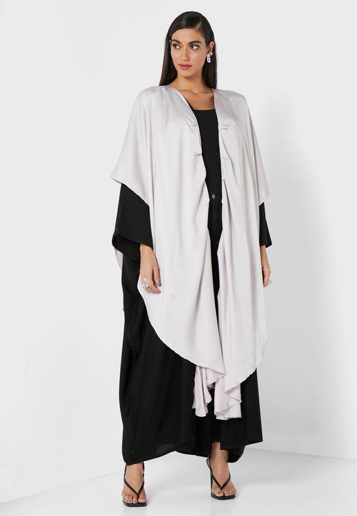 Raven Colorblock Abaya