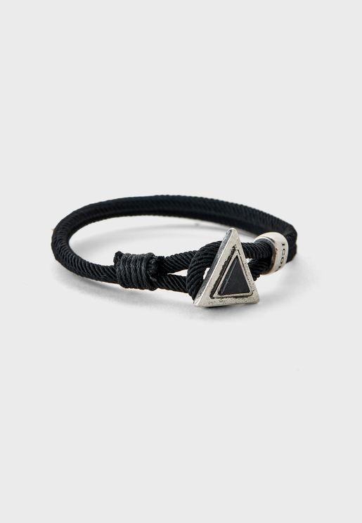 Triangulation Cord Bracelet
