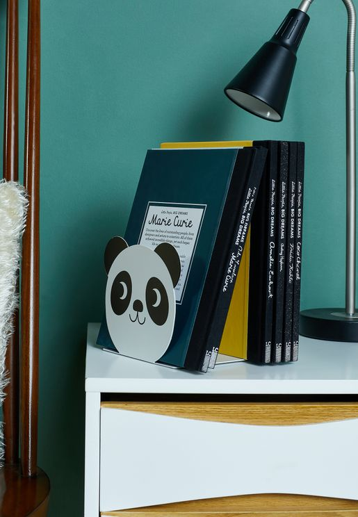 Set Of 2 Miko The Panda Bookends