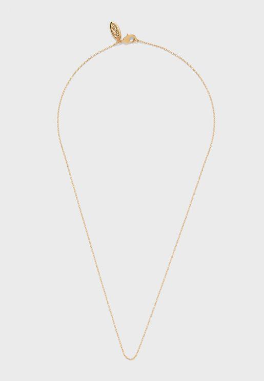 Fine Trace Chain Necklace