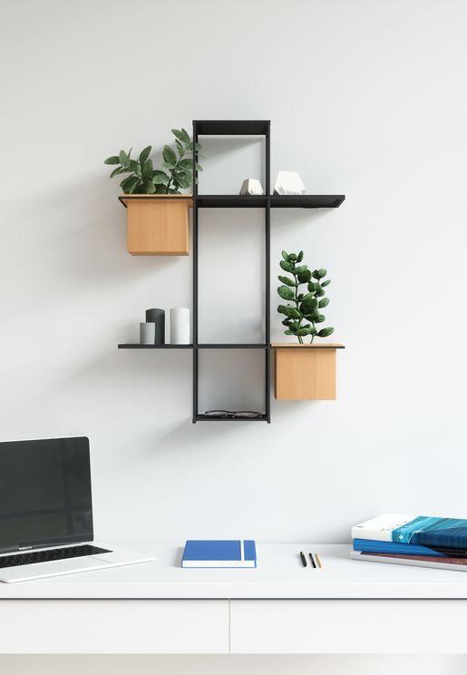 Cubist Multi Wall Shelf