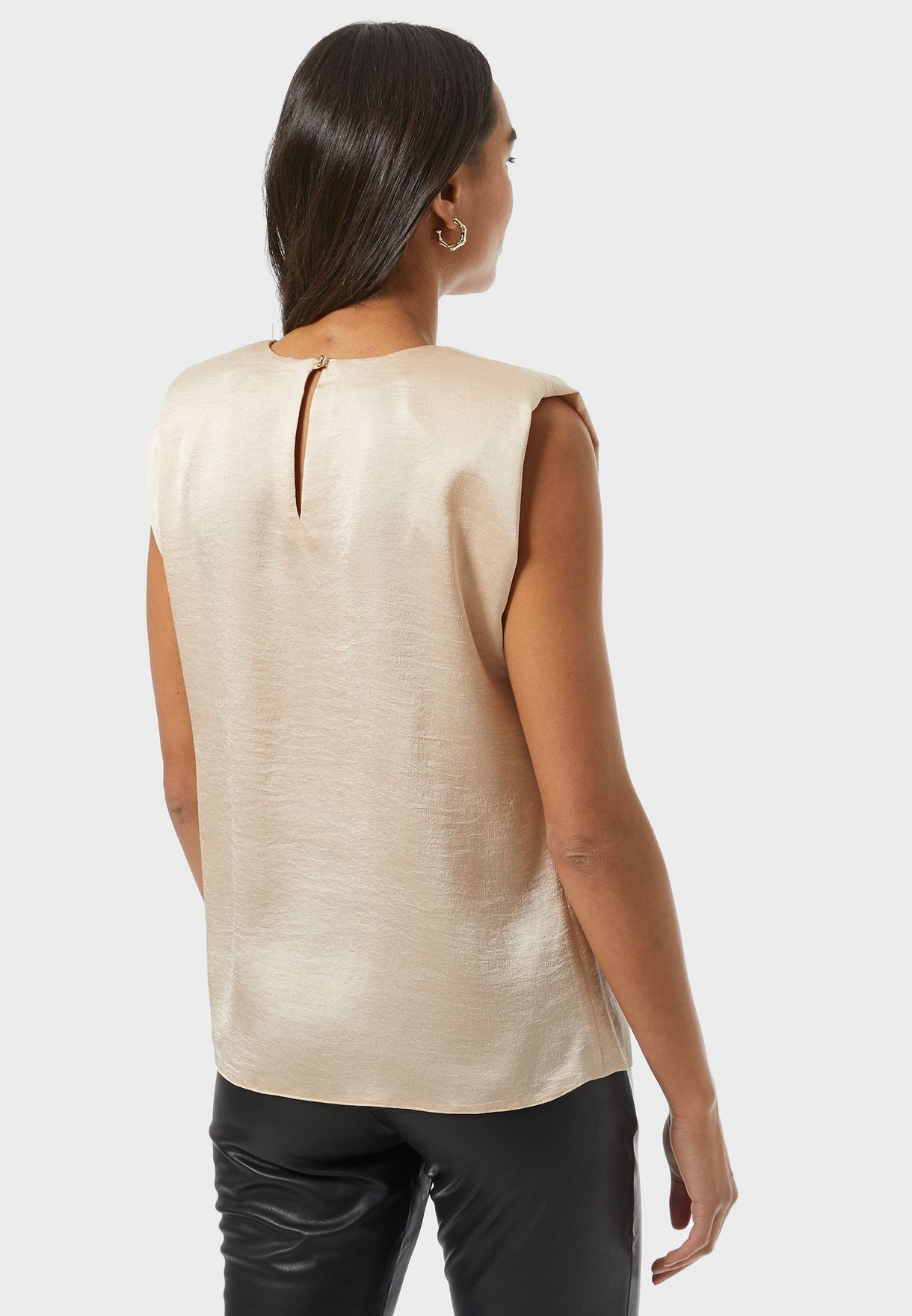 Gathered Neck Top