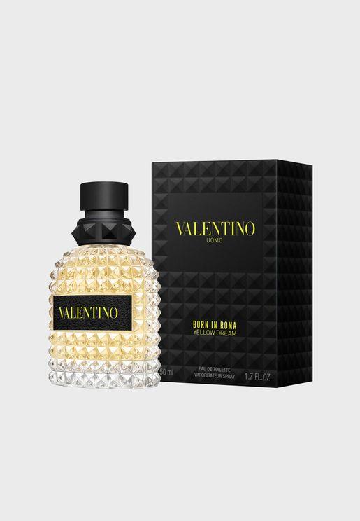 Born In Roma Uomo - Yellow Dream - 50Ml