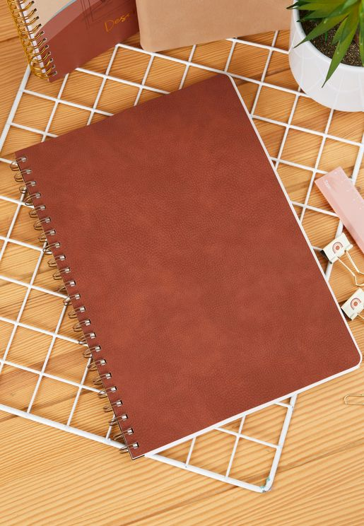 A4 Russet Daily Scribe Journal
