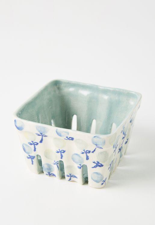 Floral Berry Print Baskets