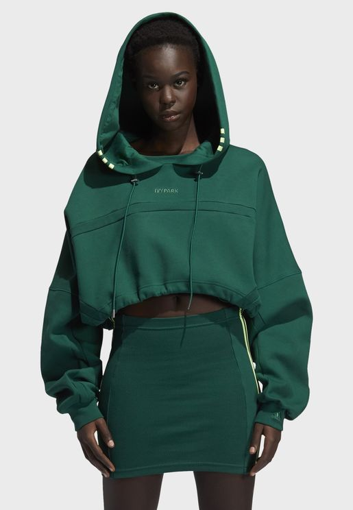 Cut Out Hooded Dress