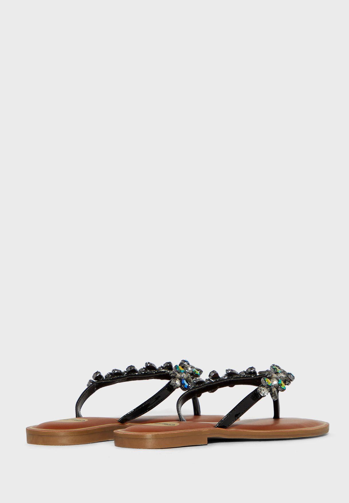 Jenna Flat  Sandals