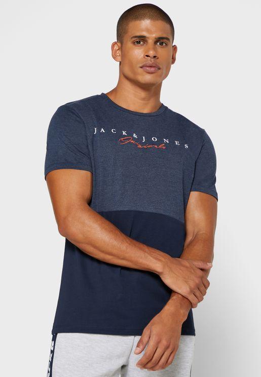 Station Regular Fit Crew Neck T-Shirt