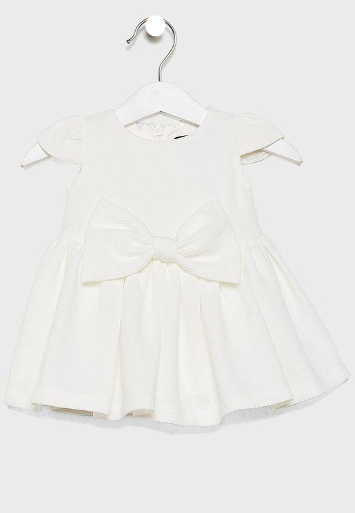 Infant Bow Detail Dress