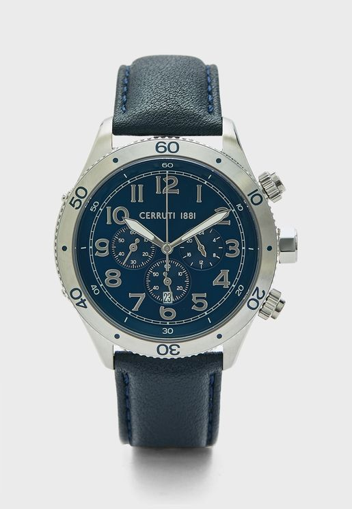 C CRWA27001 Ledro Chronograph Watch