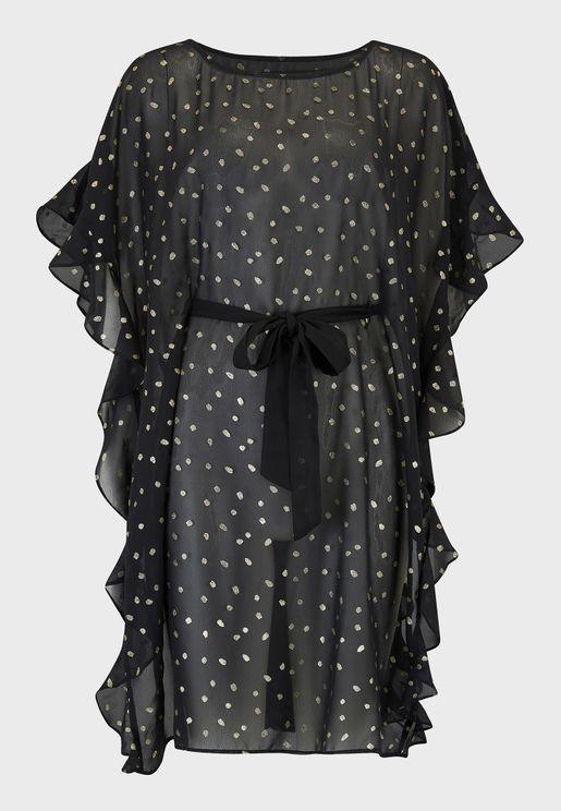 فستان بحر مطبع