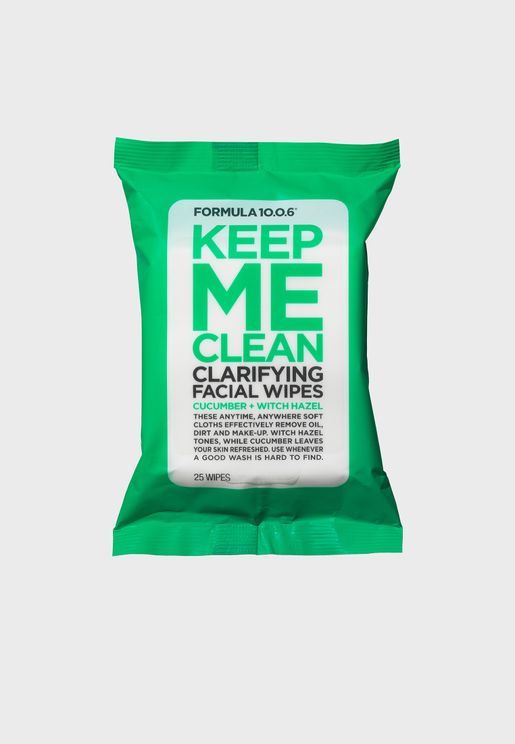 Keep Me Clean - Facial Wipes
