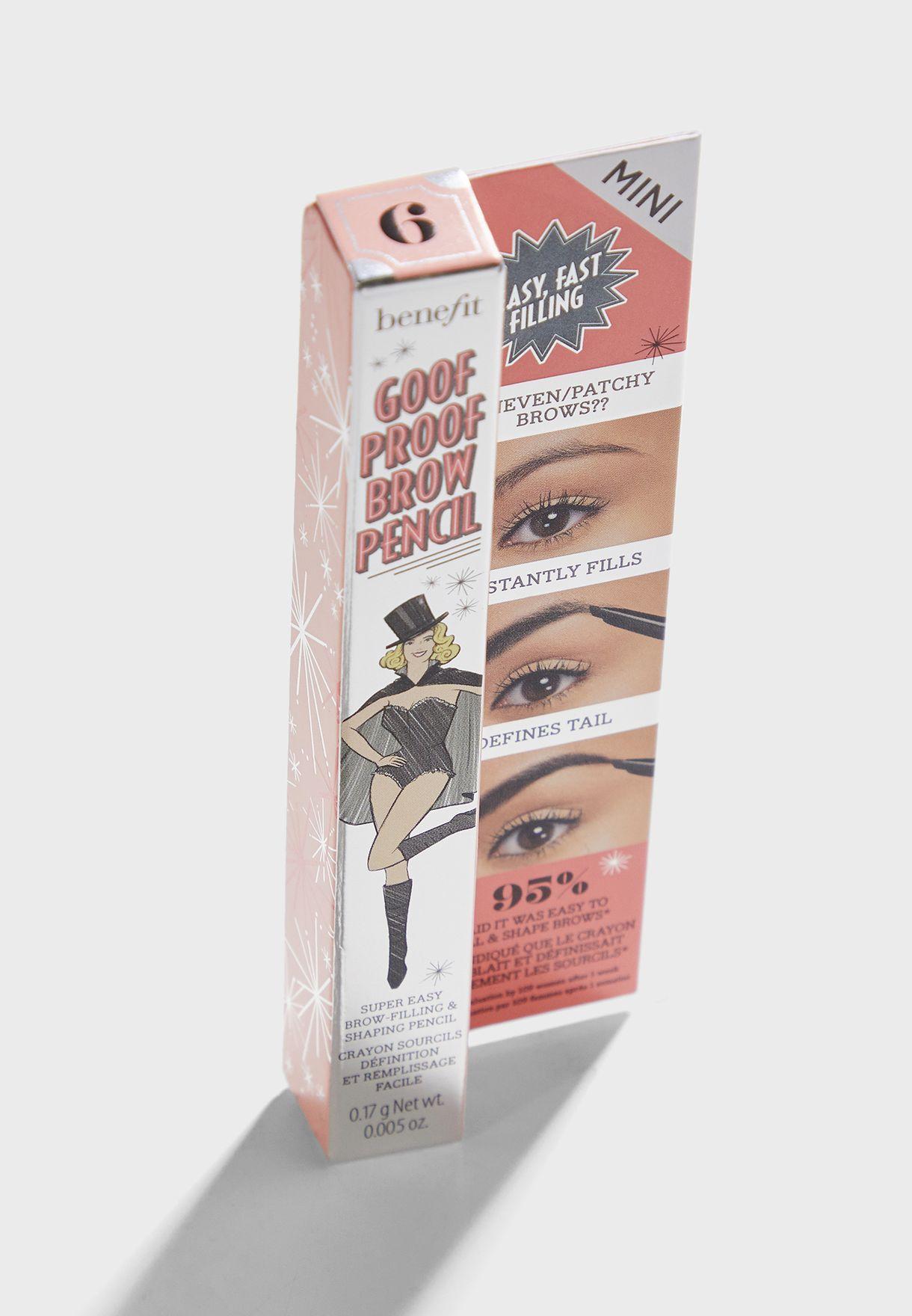 Mini Goof Proof Eyebrow Pencil 6