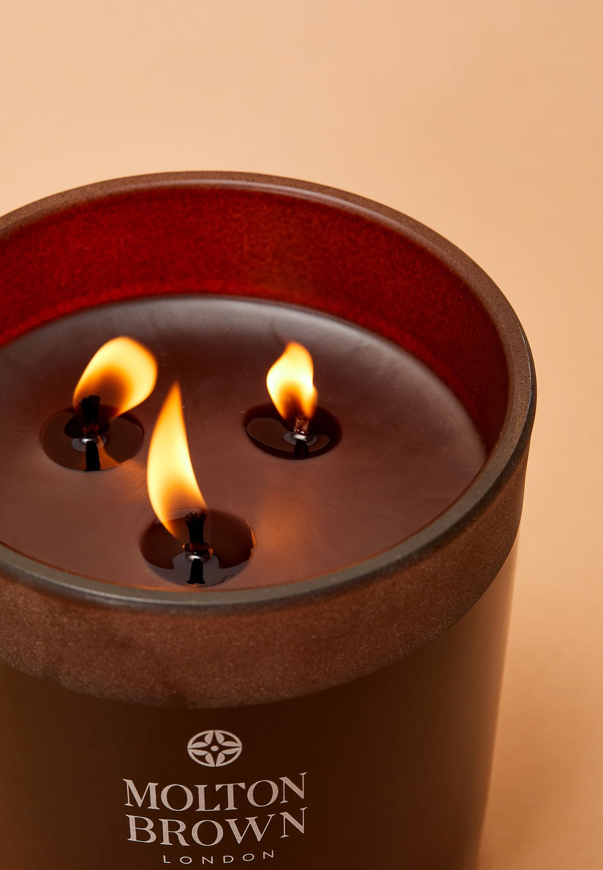Black Pepper Three Wick Candle
