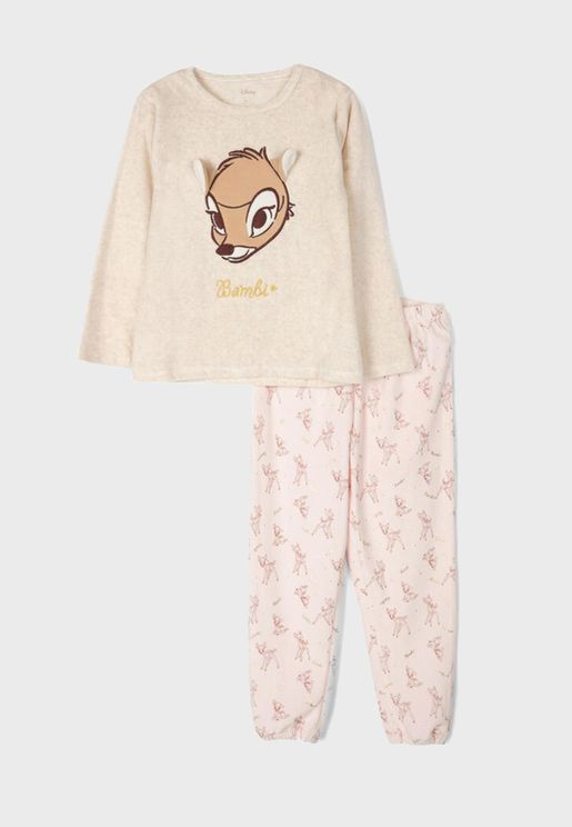 Kids Bambi Pyjama Set