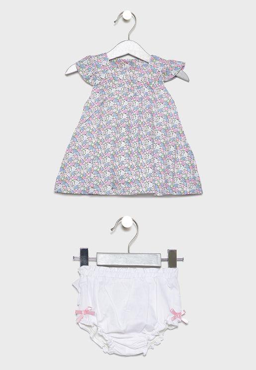 Infant Pleated Dress