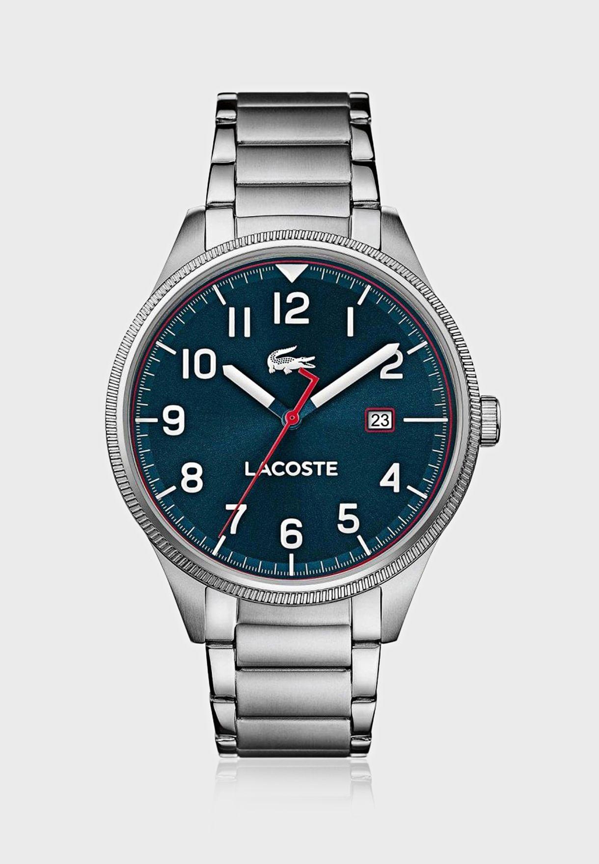 2011022 Steel Strap Analog Watch