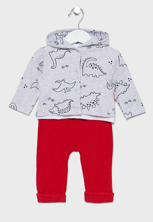 Infant 3 Piece Jungle Gift Set