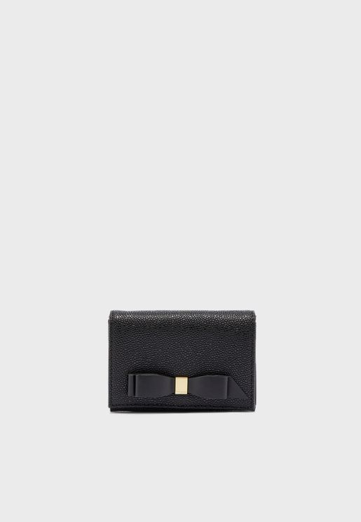Leonyy Mini Bow Flap Purse