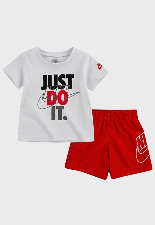 Infant Just Do It Mesh Set