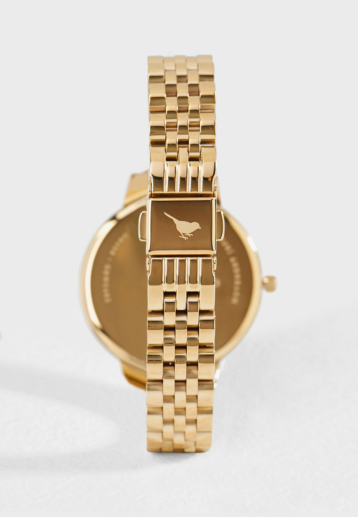 Ionic Plated Steel Analog Watch