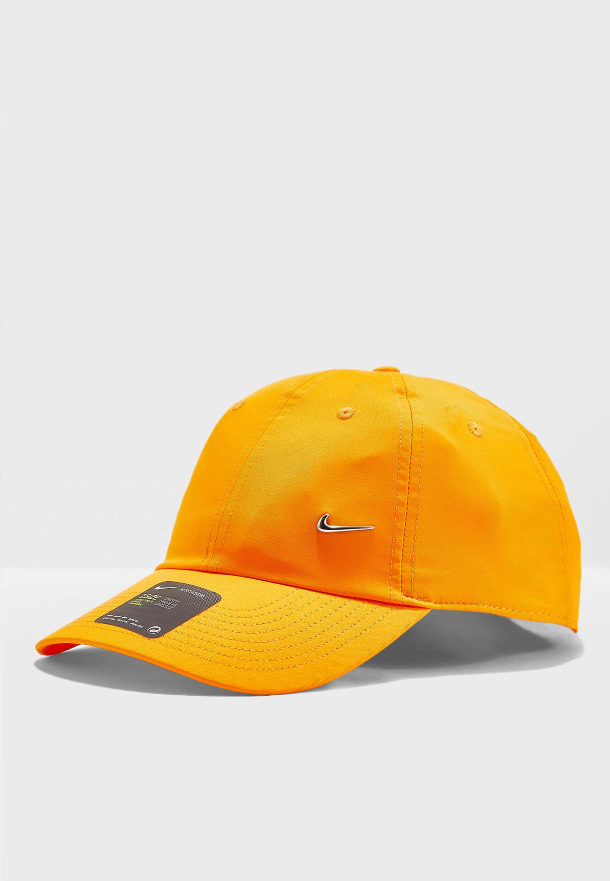 14f3c9369ba48 Shop Nike yellow H86 Metal Swoosh Cap 943092-833 for Men in UAE ...