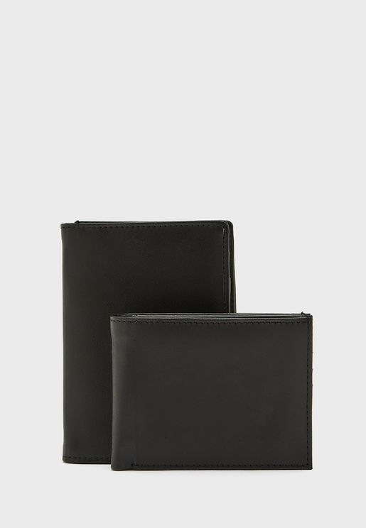 Wallet + Passport Cover Gift Set