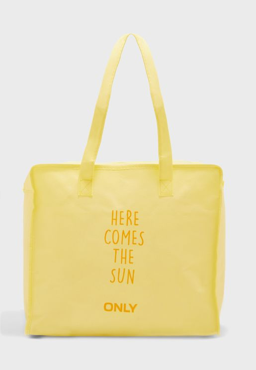 Slogan Print Shopper