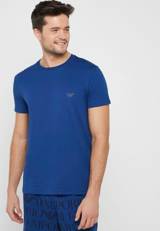 Logomaniac Crew Neck T-Shirt