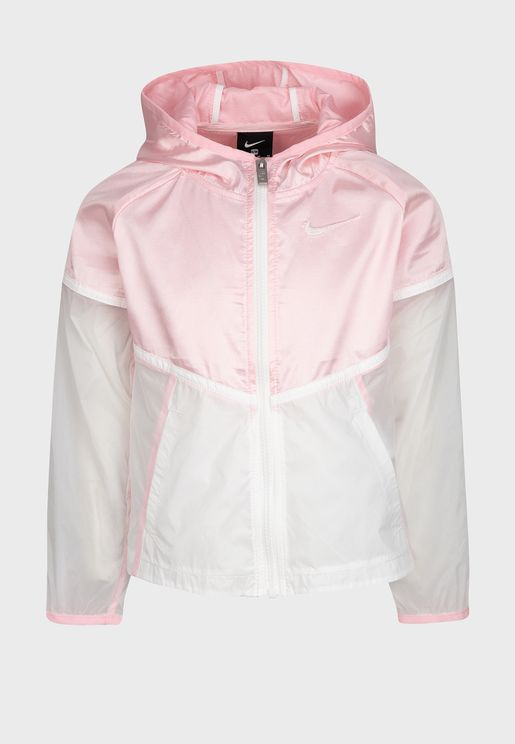 Kids Metallic Windrunner Jacket