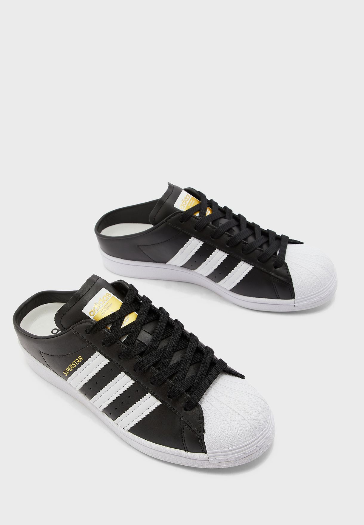 He aprendido proteína Cíclope  Buy adidas Originals black Superstar Mule for Men in MENA, Worldwide |  FX0528