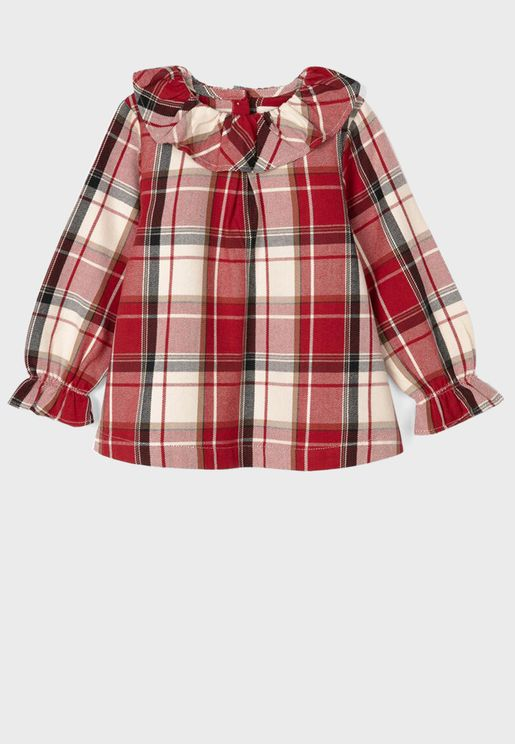 Infant Checked Top
