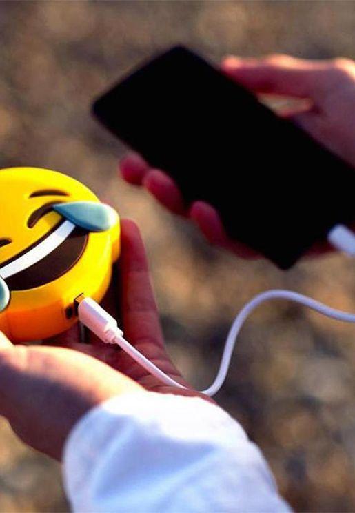 Smiley Power Bank 2600Mh