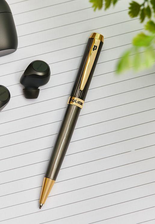 Trim Brushed Barrel Pen