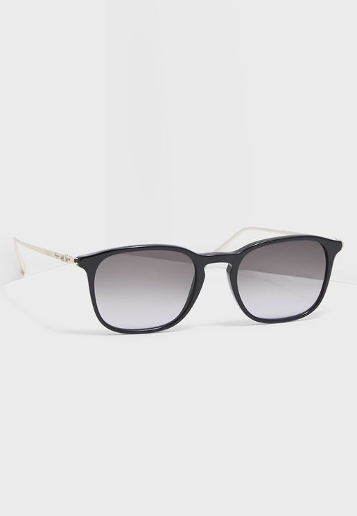 SF2846S Modified Rectangle Sunglasses