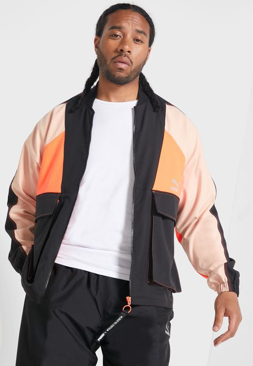 TFS Colour Block Industrial Track Jacket