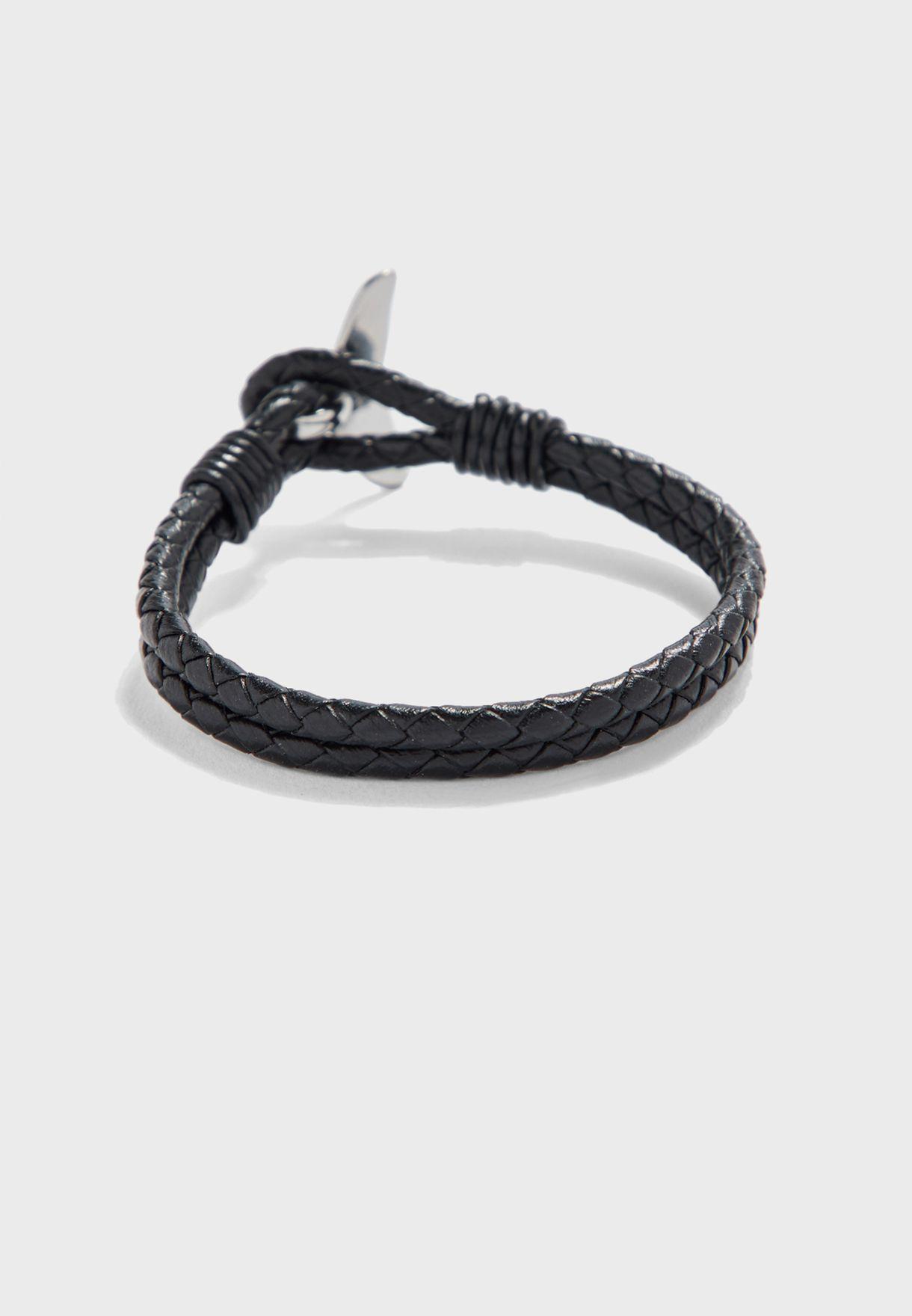 Braided Fin Lock Bracelet