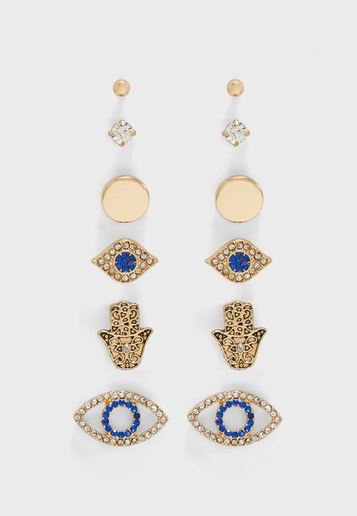 Lenkoran Earrings Set