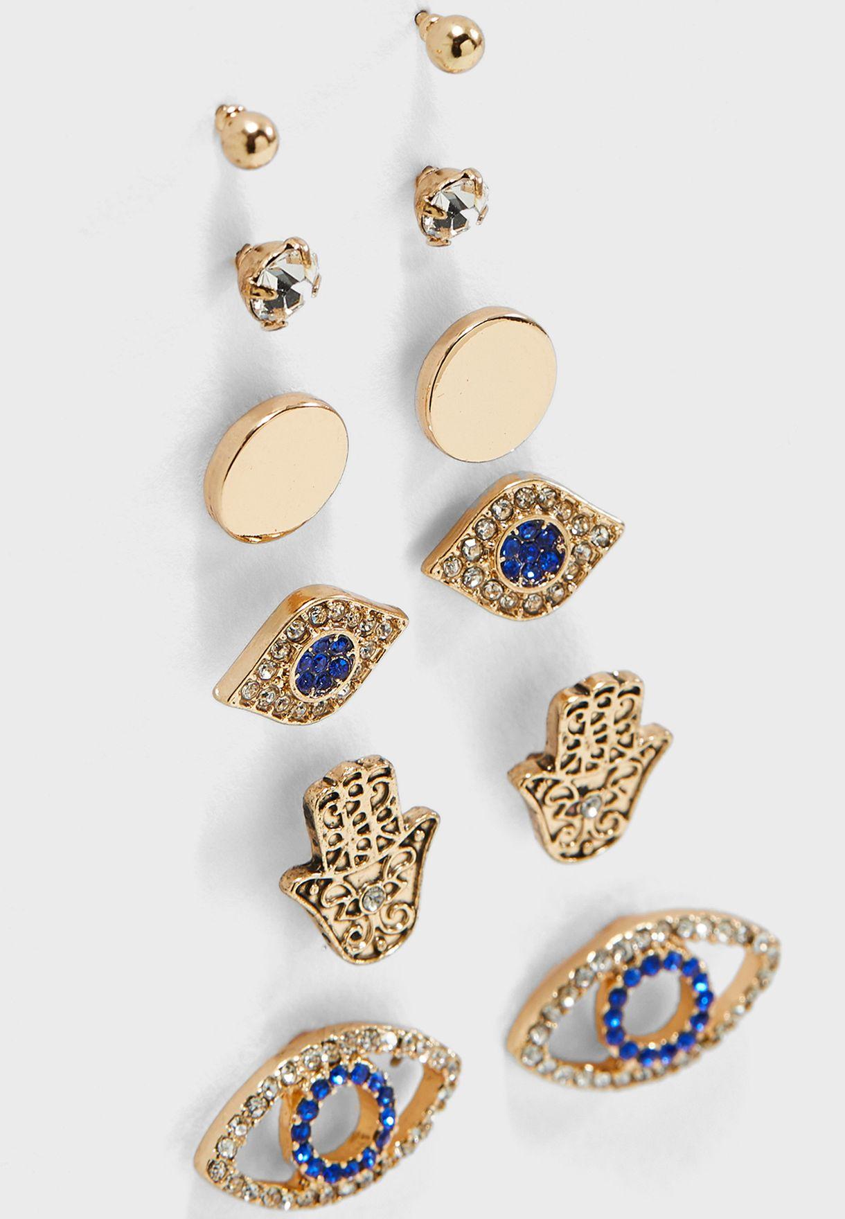 Lenkoran Earrings Set