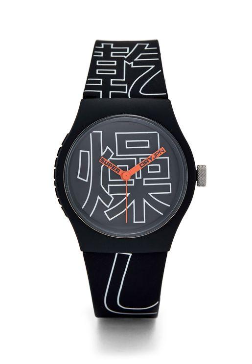 Urban Kanji Analog Watch