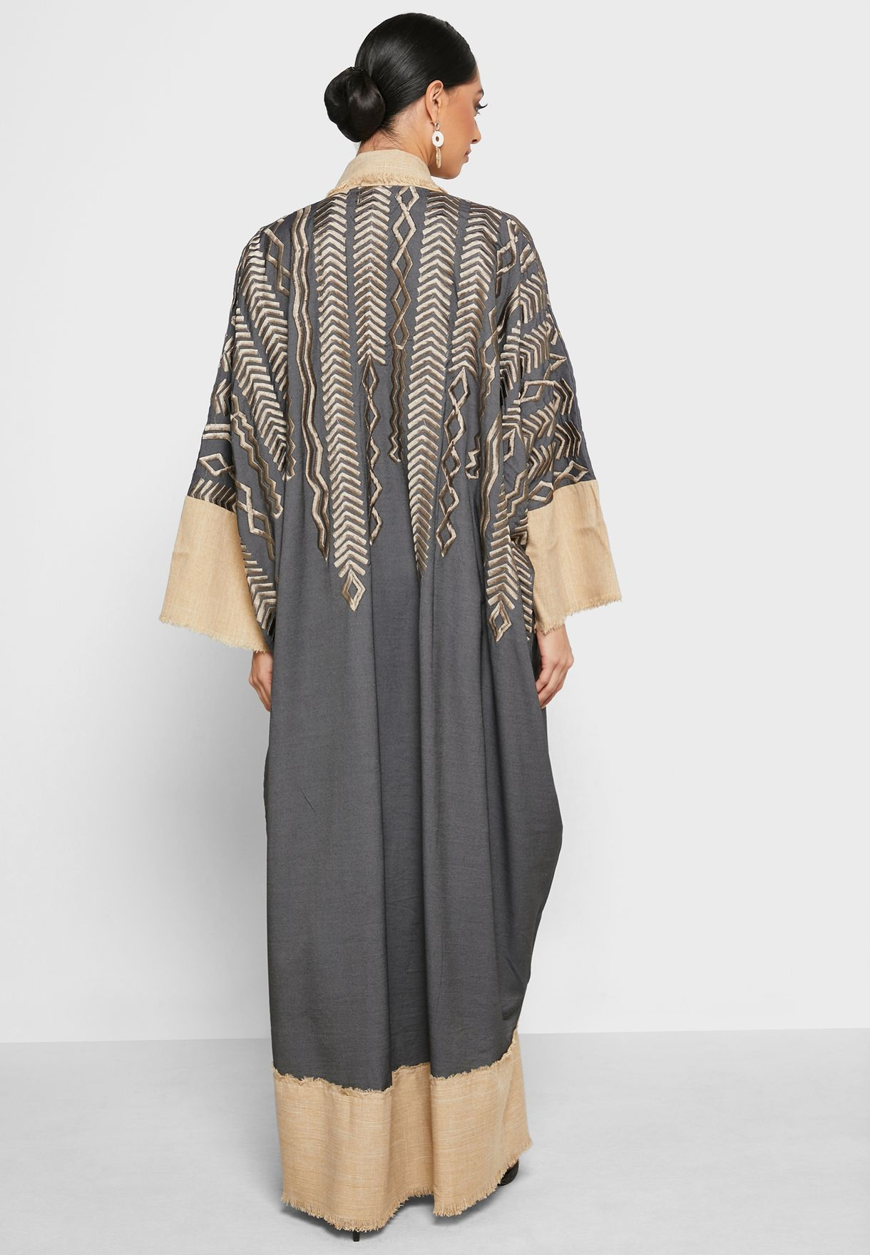 All Over Detail Abaya
