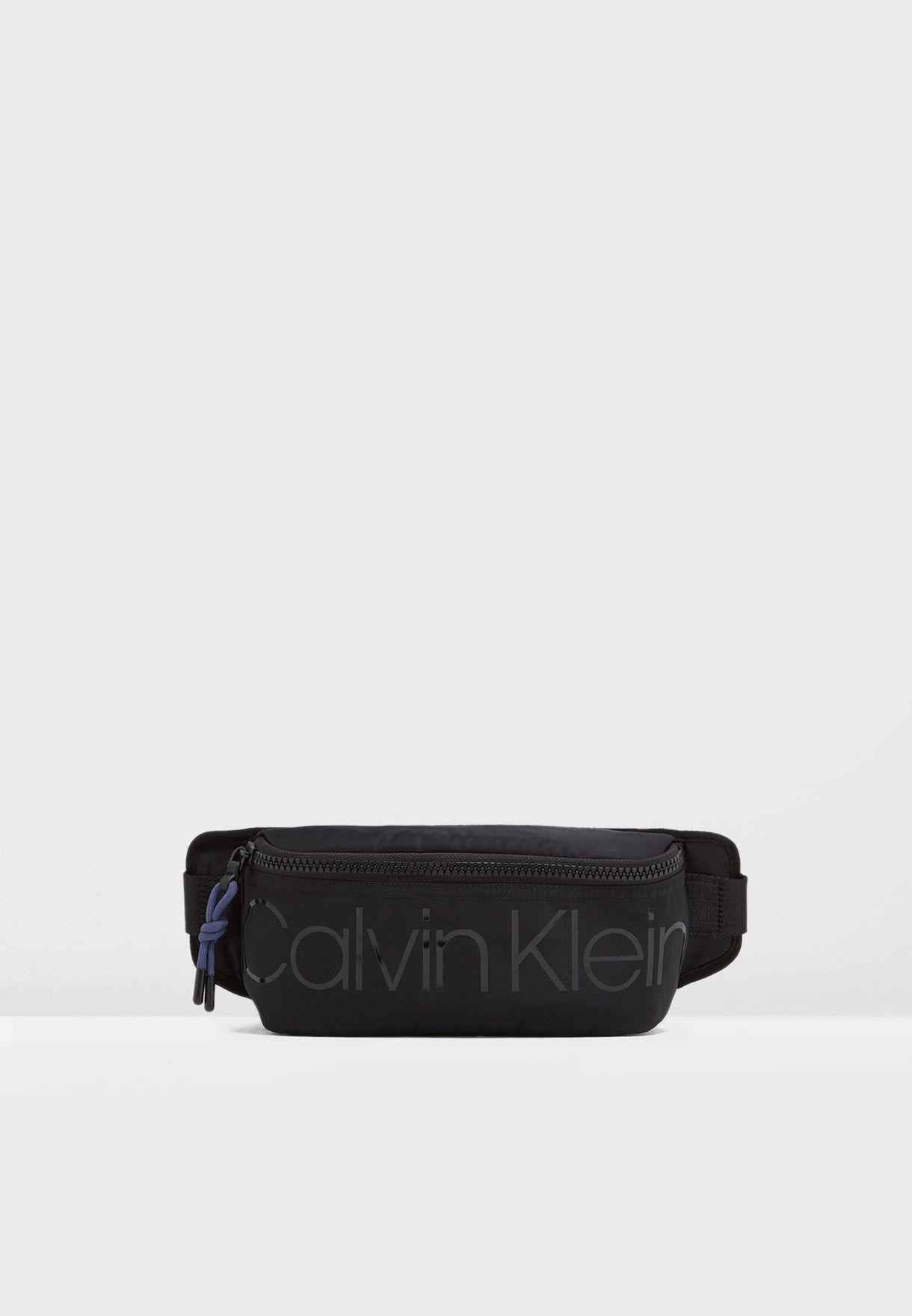 1fef2606cf Shop Calvin Klein black Logo Bum Bag K50K504709 for Men in Kuwait ...