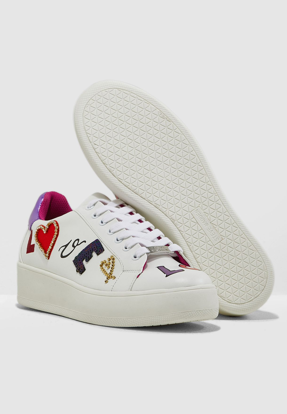 Bugout Chunky Sneaker - White