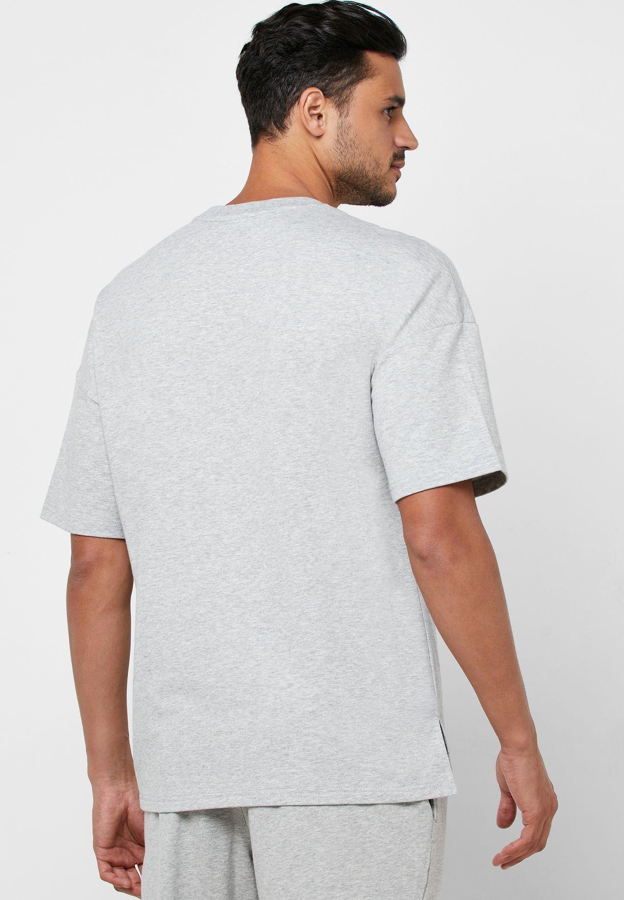 Logo Short Sleeve Sweatshirt