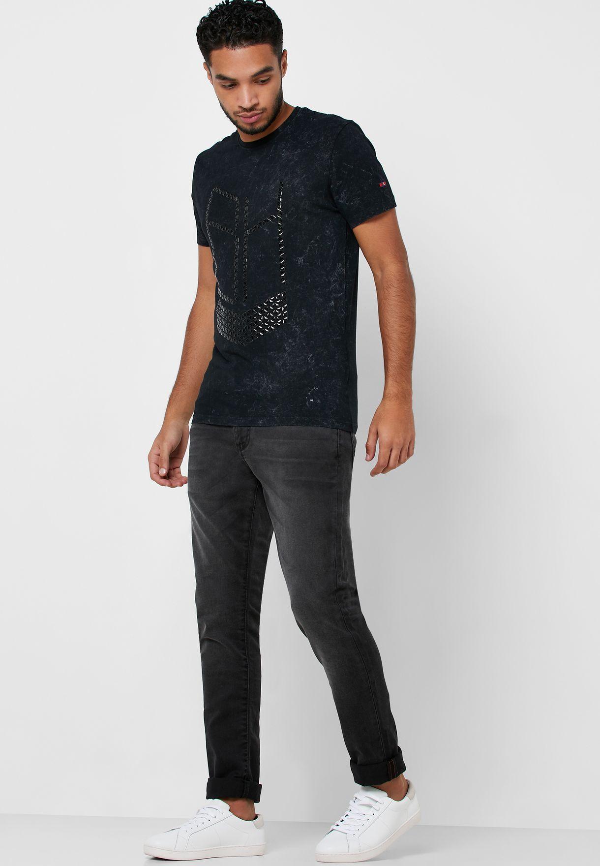 جينز من مجموعة سلمان خام