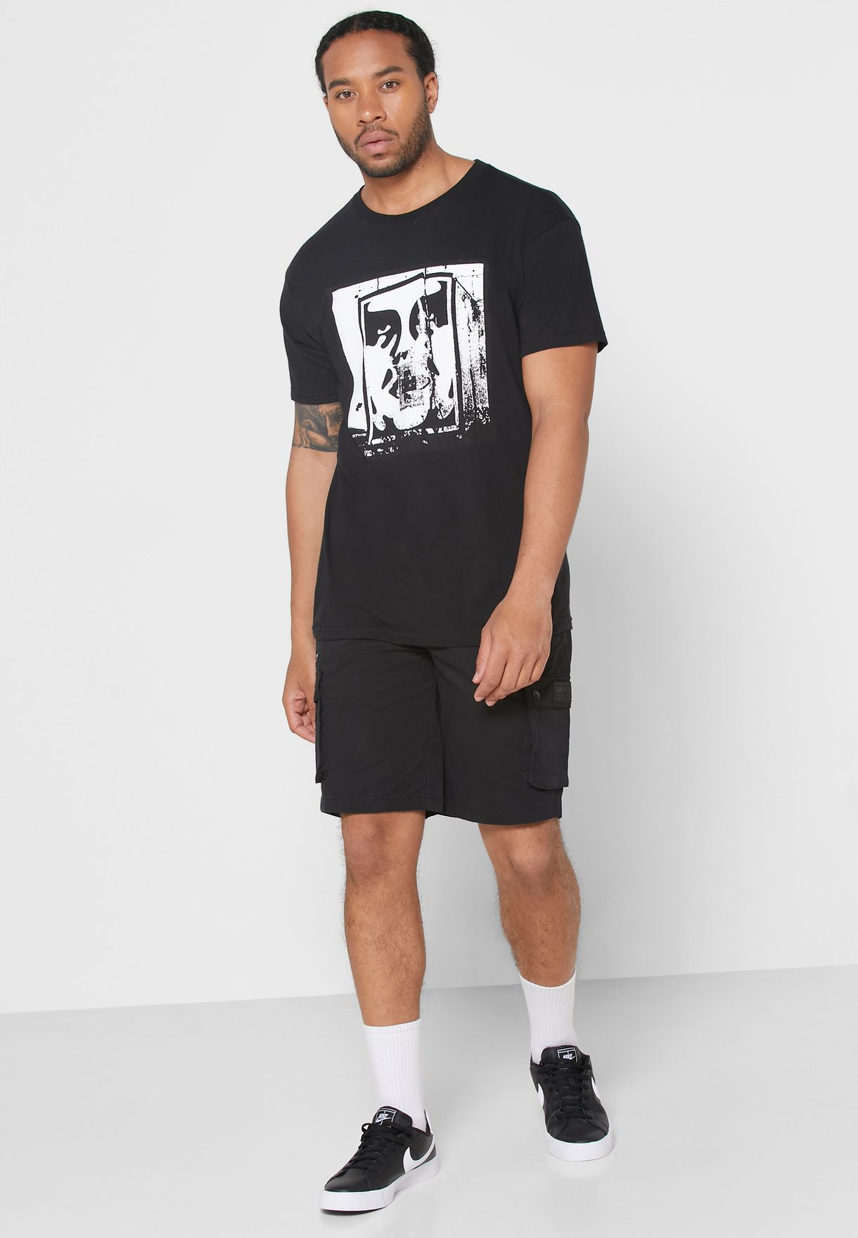 Obey Bomb The Planet T-shirt - Fashion