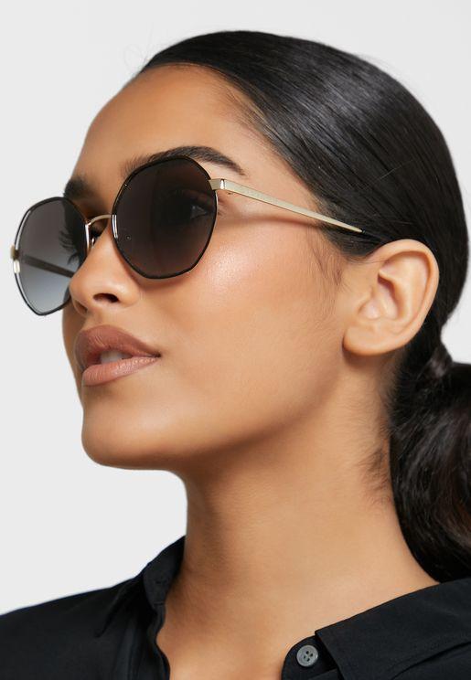 نظارة شمسية بشكل سداسي 90MK1072