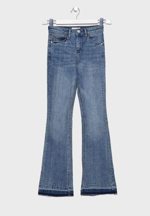 Kids Mid Wash Jeans