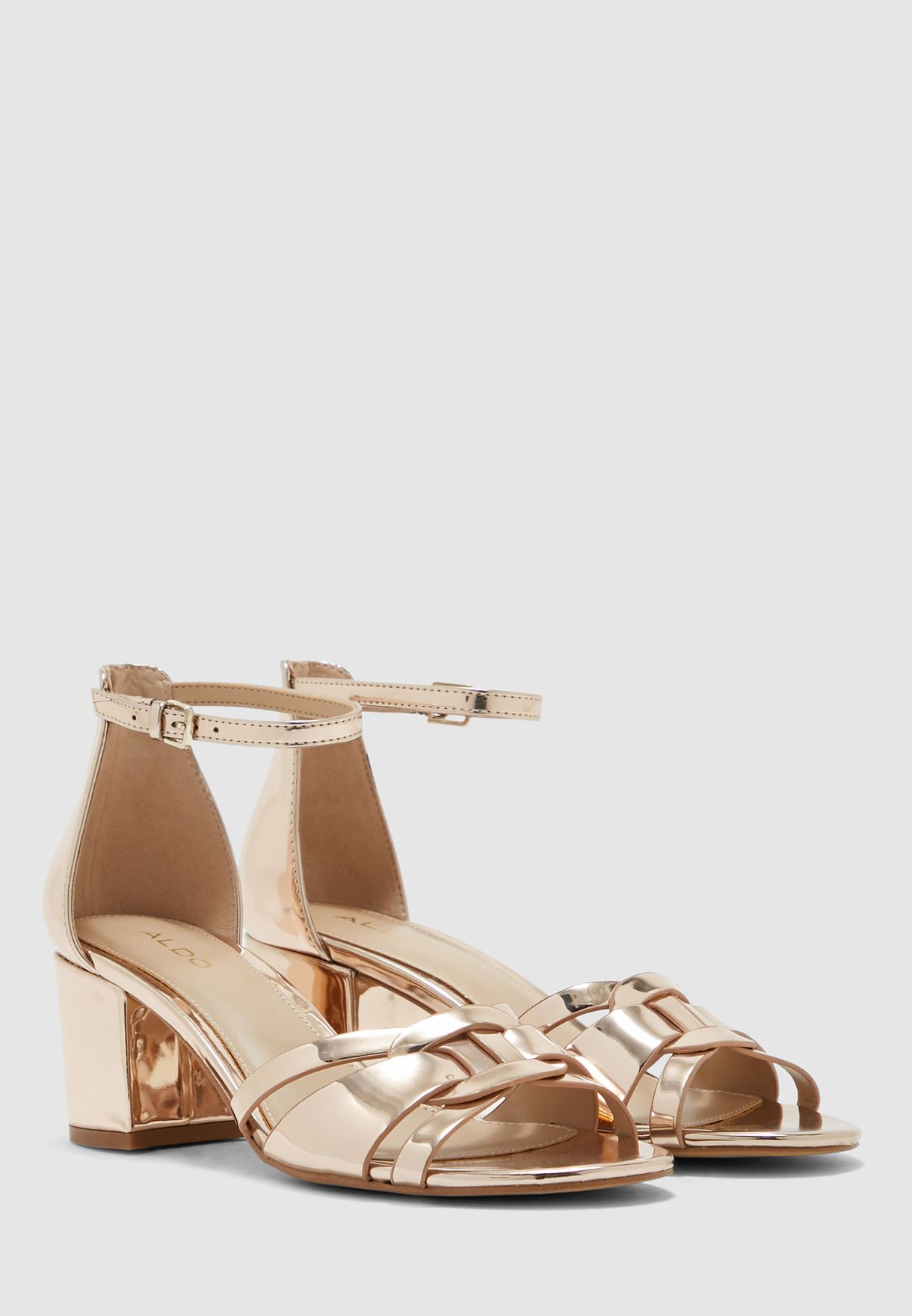 Agreidia Sandal - Metallic